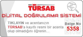 Turindex Turizm Türsab site doğrulama linki